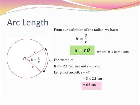 2 Circular Measure Arc Length