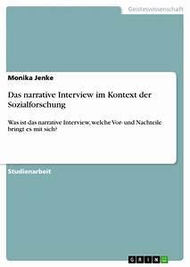 Einverständniserklärung Interview Bachelorarbeit : das narrative interview im kontext der sozialforschung ~ Themetempest.com Abrechnung