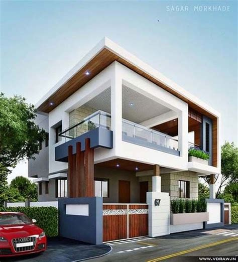 exterior elevations  independent houses  home