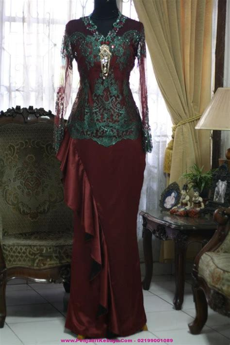 gambar kebaya cantik model baju gamis terbaru  pustaka