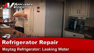 Maytag Mf12569veq2 Refrigerator Repair  U2013 Leaking Water  U2013 Grommet