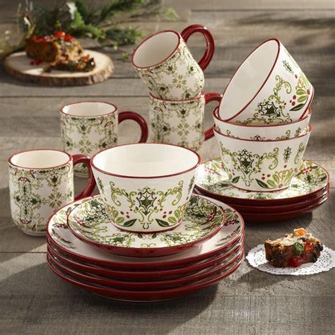 birch lane holmes  piece dinnerware set service   reviews wayfair