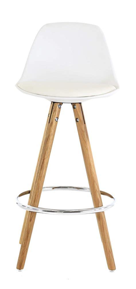 chaise hauteur plan de travail chaise hauteur plan de travail popsy blanche