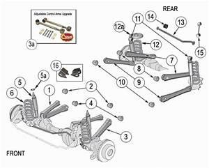 Jeep Wrangler Tj Suspension Parts  Wrangler Rubicon