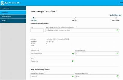 Bond Act Rental Paid Lodge Register Portal