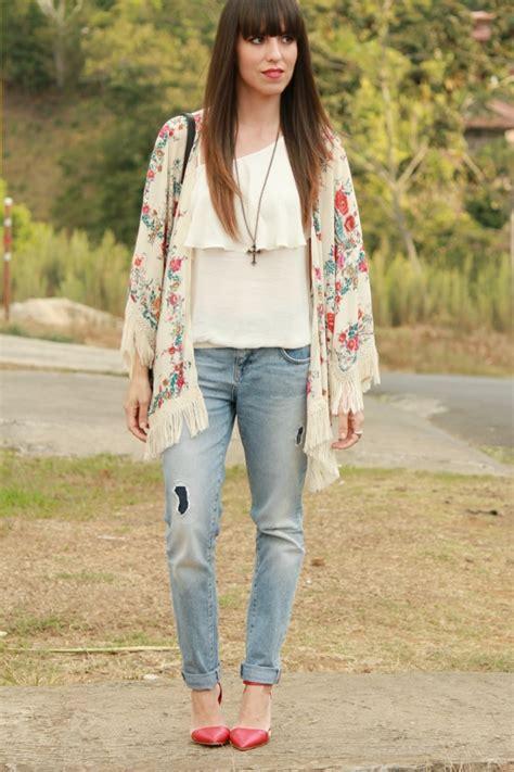 Chaqueta kimono y jeans u201cboyfriendu201d - Blog de Moda Costa Rica - Fashion Blog