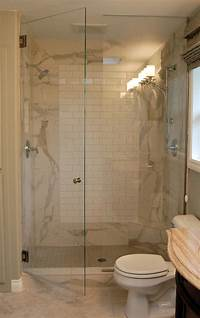 stand up shower ideas stand up shower ideas Bathroom Contemporary with bath ...
