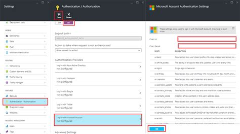 How To Configure Microsoft Account Authentication For Your