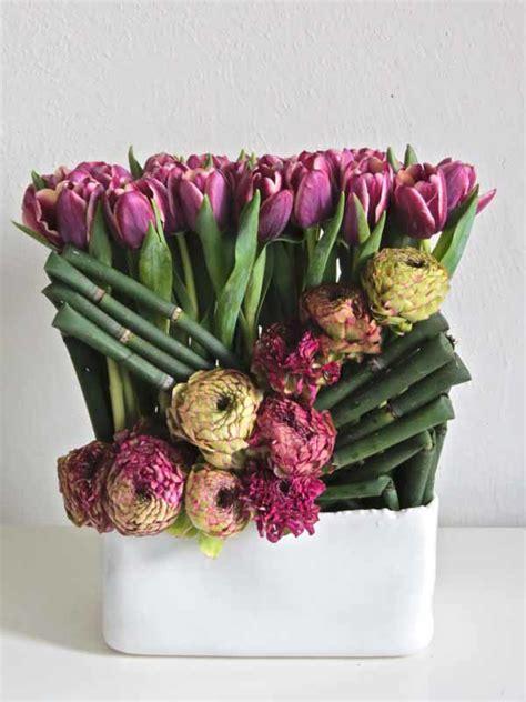 modern styled flower arrangements flirty fleurs