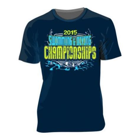 swimming t shirt designs swimming and diving team t shirt designs custom sports