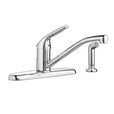 standard single handle kitchen faucet standard colony choice single handle standard