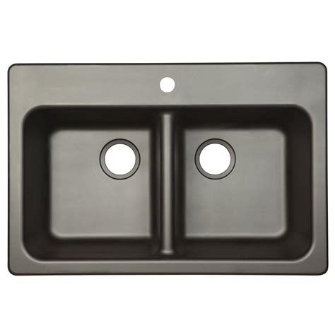 kitchen sinks composite franke dual mount composite granite 33x22x8 1 2996