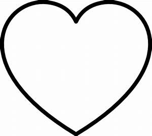 Black And White Heart Clip Art at Clker.com - vector clip ...