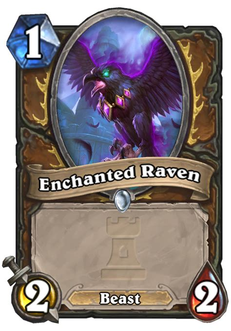 enchanted hearthstone card