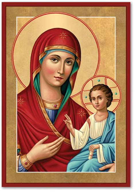 Our Of Light by Blessed Icons Our Of Light Icon