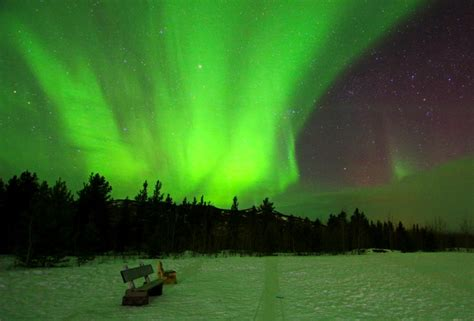 Tracking The Northern Lights In Yukon Canada