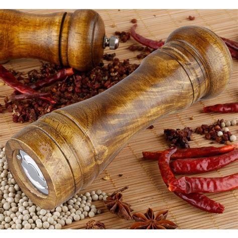 Peugeot Pepper Mill Repair by Outu Pepper Mills 8 7 Inch Classical Wooden Pepper Sauce