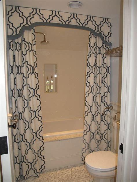 bathroom valances ideas shower valance with curtains transitional bathroom