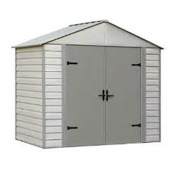 8 x 5 viking series vinyl coated steel storage shed