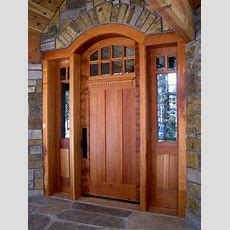 Hints On Buying Craftsman Style Entry Doors — Interior