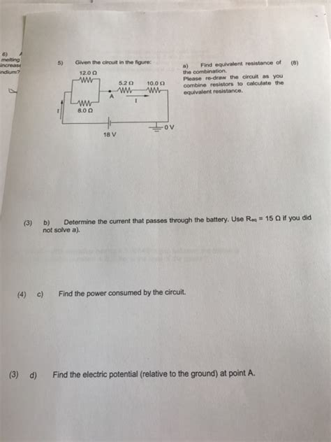 Solved Given The Circuit Figure Find Equivalen