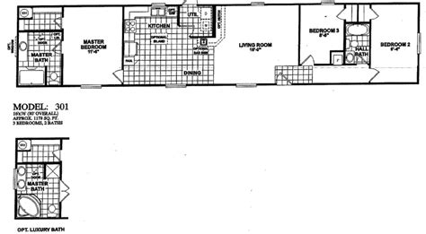 Fleetwood Mobile Homes Floor Plans 1996 by 1996 Clayton Mobile Home Floor Plan Free Home Design