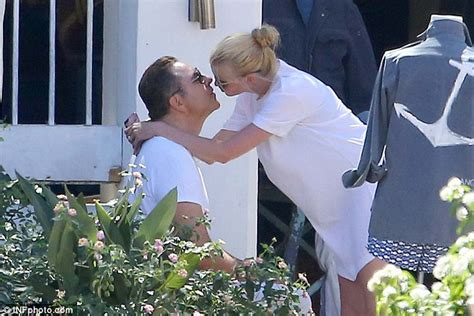 David Walliams And Model Wife Lara Stone Put On An Amorous