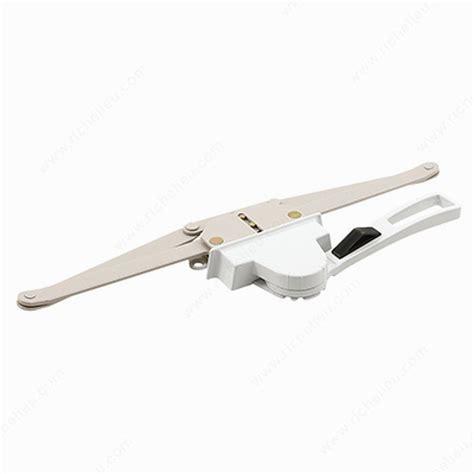 single pull lever operator richelieu glazing supplies