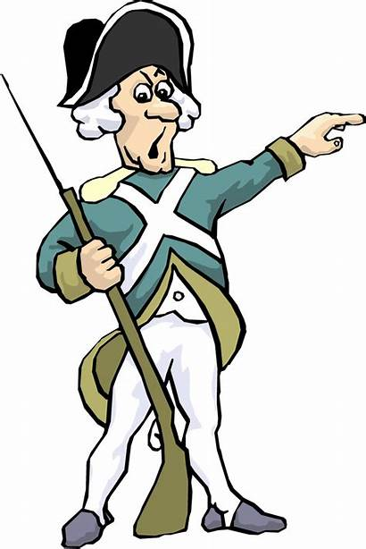 Soldier Clipart War Revolutionary French British Cartoon