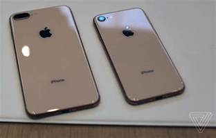 the iphone 8 on with apple s new glass backed iphone 8 and iphone