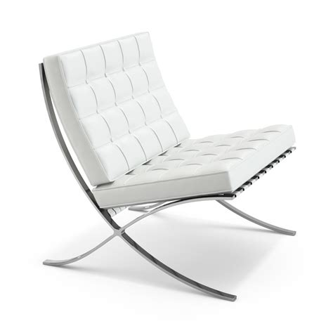 the barcelona chair designed by mies der rohe