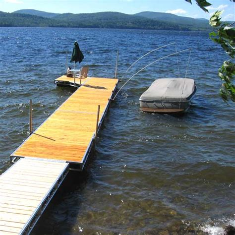 Used Floating Boat Dock For Sale by Docks Lifts Schroon Lake Marina