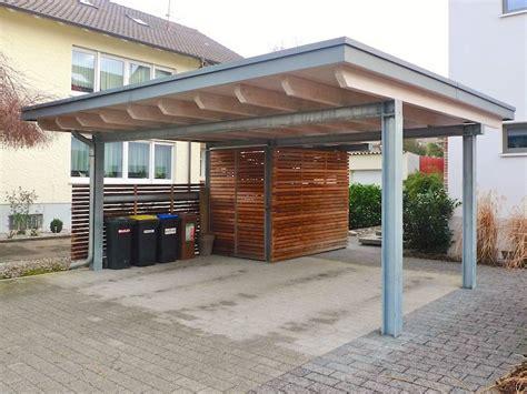 Carport & Garage  Holzbau Breckel