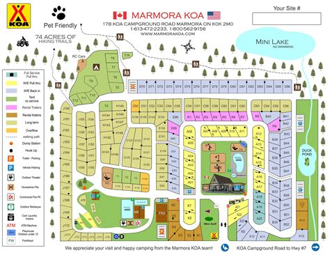 Marmora, Ontario Campground  Marmora Koa