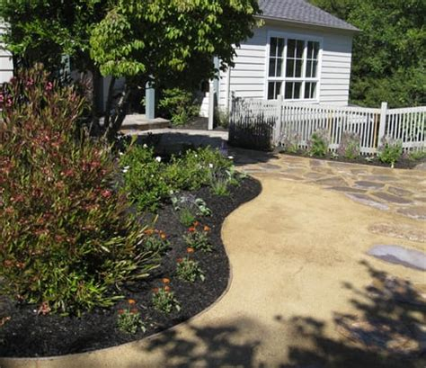 kentfield residence decomposed granite replaced lawn