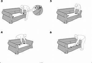 Ikea Ektorp Sofa Bed Cover Assembly Instruction 2
