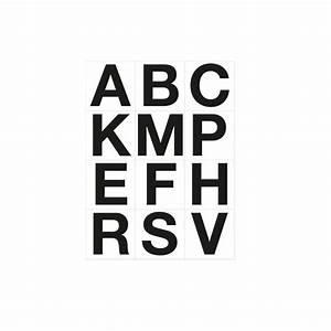Lettres Adhésives Extérieur : 12 lettres adh sives pour supports m talliques de dressage abrivert ~ Farleysfitness.com Idées de Décoration