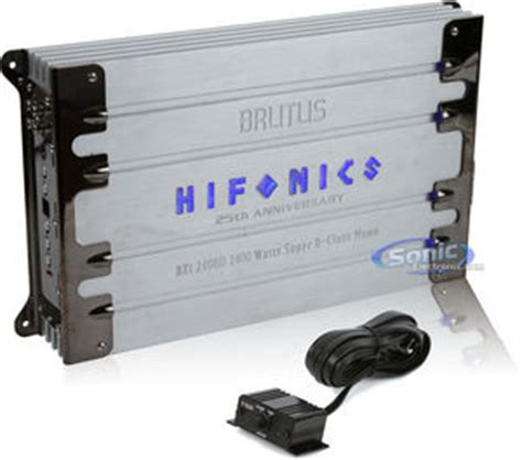 refurbished refurbished hifonics brutus bxi2408d class d monoblock lifier