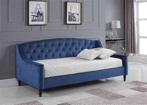 Daydream Royal Blue Velvet Day Bed   Bedz Online