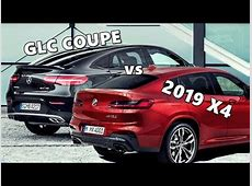 2019 BMW X4 M40d vs Mercedes GLC 43 Coupe YouTube