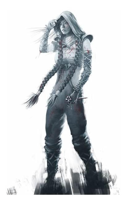 Shadow Tactics Shogun Blades Aiko Render Characters