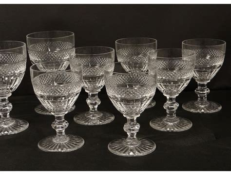 crystal stemware st louis trianon tips nineteenth