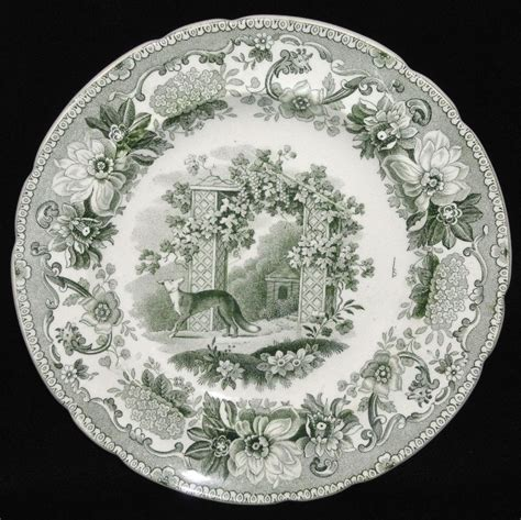 Dishy News A Transferware Blog The Fox And The Grapes