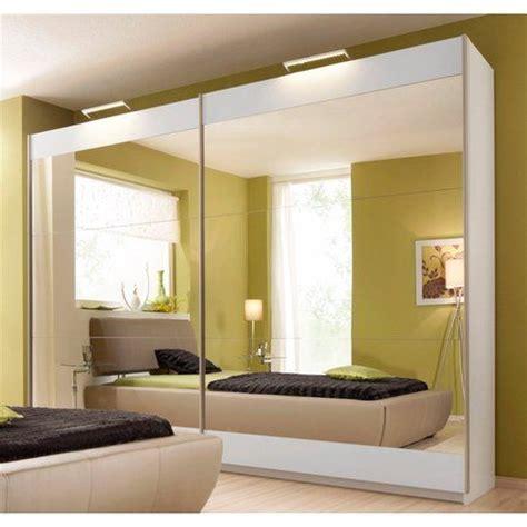 Armoirependerie Rauch 2 Portes Coulissantes Avec Miroir