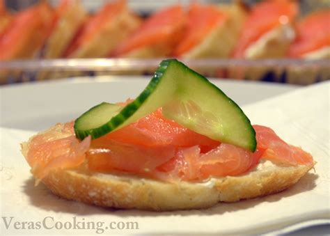 salmon canapes smoked salmon canapes vera 39 s cooking