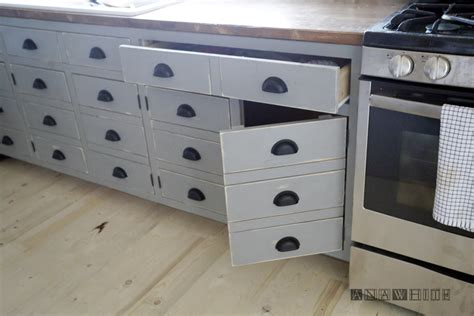 simple drawer fronts  kitchen cabinets greenvirals style