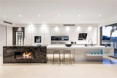 waterfront bliss eclectic kitchen design  interiors