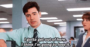 Office Space Just A Moment Gif by Office Space Gifs Find On Giphy