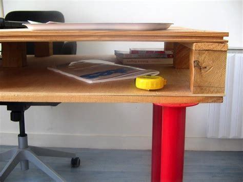bureau palette bois bureau en palettes 18 idées le bureau tendance et