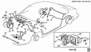 Buick Lesabre Valve  Electronic Brake Control  Valve  Brk